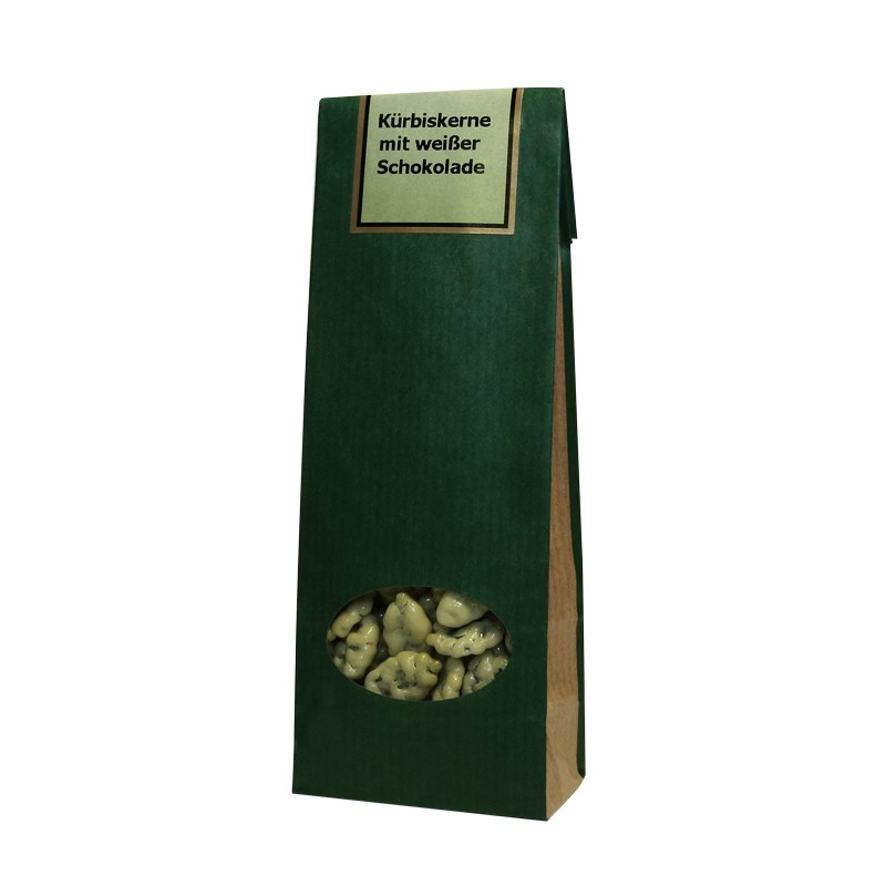 Kürbiskerne mit weißer Schokolade 100 g